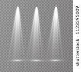 vector light sources  concert... | Shutterstock .eps vector #1123295009