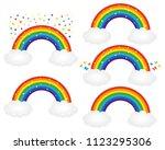 beautiful starry rainbows...