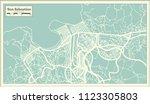 san sebastian spain city map in ... | Shutterstock .eps vector #1123305803