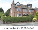 semi detached house  middleton  ...   Shutterstock . vector #112334360