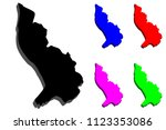 3d map of liechtenstein ... | Shutterstock .eps vector #1123353086