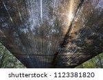 close up black shading net...   Shutterstock . vector #1123381820