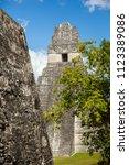temple i  el gran jaguar one of ... | Shutterstock . vector #1123389086
