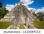 temple i  el gran jaguar one of ... | Shutterstock . vector #1123389113