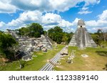 north acropolis of the ancient... | Shutterstock . vector #1123389140