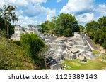 the north acropolis of the... | Shutterstock . vector #1123389143