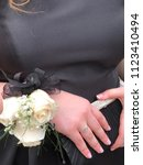 Small photo of Corsage and prom event
