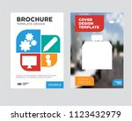 shop brochure flyer design... | Shutterstock .eps vector #1123432979