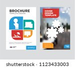 settings brochure flyer design... | Shutterstock .eps vector #1123433003