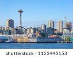 Seattle Skyline From Bainbridge ...