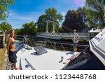 merrickville   ontario   canada ... | Shutterstock . vector #1123448768