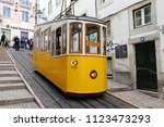 lisbon  portugal   june 6  2018 ... | Shutterstock . vector #1123473293