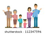 family | Shutterstock .eps vector #112347596