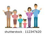 family | Shutterstock .eps vector #112347620