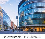 berlin  germany   december 8 ... | Shutterstock . vector #1123484336