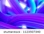 brush stroke abstract... | Shutterstock . vector #1123507340