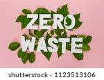 Zero Waste Paper Text Witj...