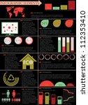 detail info graphic vector... | Shutterstock .eps vector #112353410