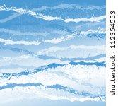 frosty wind flow | Shutterstock . vector #112354553
