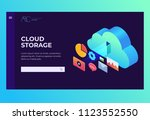 header for website. homepage.... | Shutterstock .eps vector #1123552550