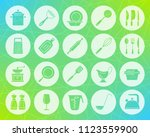 kitchenware icons set. web sign ... | Shutterstock .eps vector #1123559900