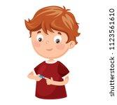 vector illustration of nail... | Shutterstock .eps vector #1123561610