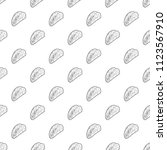 kebab icon. outline... | Shutterstock .eps vector #1123567910