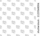 retro recorder icon. outline... | Shutterstock .eps vector #1123568006
