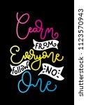 hand lettered learn from... | Shutterstock .eps vector #1123570943