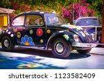matala   greece   june 14  2018 ... | Shutterstock . vector #1123582409