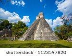 temple i  el gran jaguar one of ... | Shutterstock . vector #1123597820