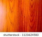 teak wood  tectona grandis ... | Shutterstock . vector #1123624583