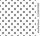 seamless pattern with black... | Shutterstock .eps vector #1123653383
