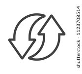 arrow icon data symbol.