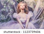 utdoors beauty close up...   Shutterstock . vector #1123739606