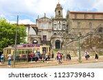 porto  portugal   june 21  2018 ... | Shutterstock . vector #1123739843