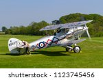 old warden  bedfordshire  uk  ... | Shutterstock . vector #1123745456