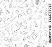 vector seamless pattern of...   Shutterstock .eps vector #1123759016