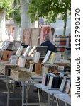 beziers  herault  france   june ...   Shutterstock . vector #1123790270