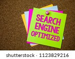 text sign showing search engine ... | Shutterstock . vector #1123829216