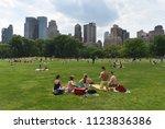 new york  usa   may 26  2018 ... | Shutterstock . vector #1123836386