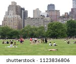 new york  usa   may 26  2018 ... | Shutterstock . vector #1123836806