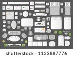 icons set of interior.... | Shutterstock .eps vector #1123887776