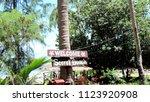 koh phangan  thailand   08 08...   Shutterstock . vector #1123920908