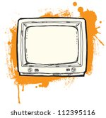 coll grunge illustration with... | Shutterstock . vector #112395116