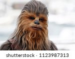 Small photo of CANNES, FRANCE - MAY 15: Chewbacca attends the photo-call of 'Solo: A Star Wars Story' during the 71st Cannes Film Festival on May 15, 2018 in Cannes, France.