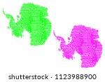 sketch antarctica letter text...   Shutterstock .eps vector #1123988900