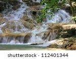 Dunn's River Falls  Jamaica.