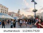 madrid  spain   june 29  2018 ... | Shutterstock . vector #1124017520
