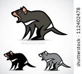 Tasmanian devil - vector illustration
